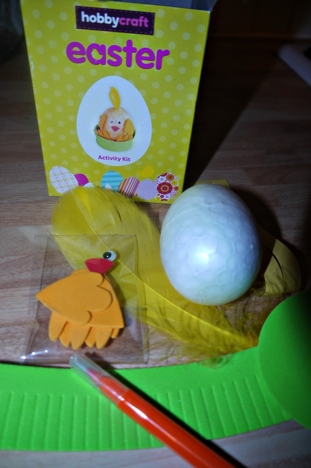 Inside the wendy house easter crafts with hobbycraft cbias chick easter negle Images