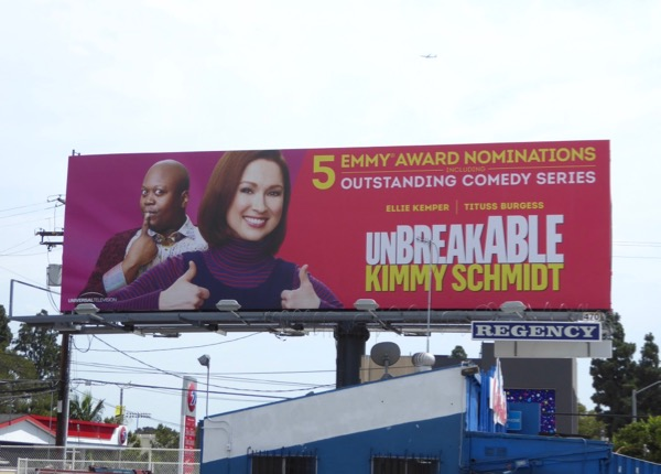 Kimmy Schmidt season 3 Emmy nominations billboard