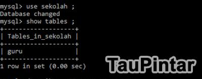 Cara Mudah Membuat Tabel di MySQL