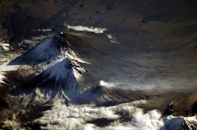 Уникальные фотографии из космоса с МКС Фёдора Юрчихина