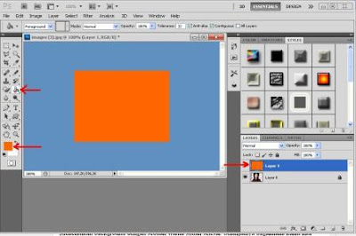 Cara Mengganti Warna Background Foto Dengan Extract Photoshop