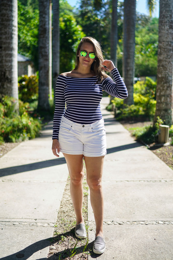 Krista Robertson, Covering the Bases,Travel Blog, NYC Blog, Preppy Blog, Style, Fashion Blog, Travel, Fashion, Preppy Style, Blogger Style, Jamaica, Zip Lining, Jamaica Vacation, Summer Essentials, Summer Must Haves, Beach Looks, Beach Trips, Beach, White Shorts