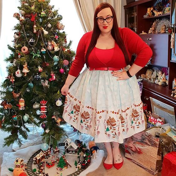 Hell Bunny Christmas  Skirt