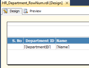 RowNumber in SSRS - IT Developer Zone