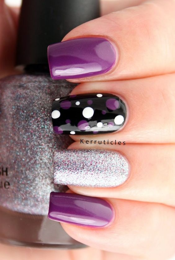 easy nail art designs for nails