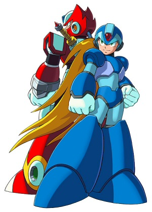 had this other new high techno sort of mega man and then we had zero