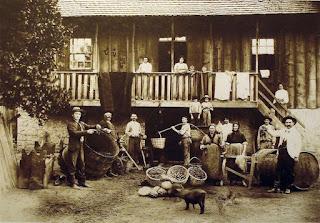 Italian-Brazilian farmers in 1904 by Domingos Mancuso
