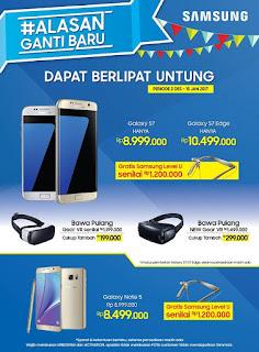 Promo Akhir Tahun 2016 Samsung Galaxy S dan Note Series