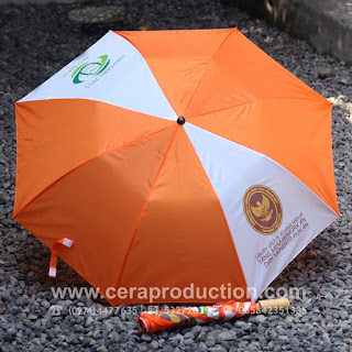 Contoh Souvenir Payung Promosi Kementerian Agraria