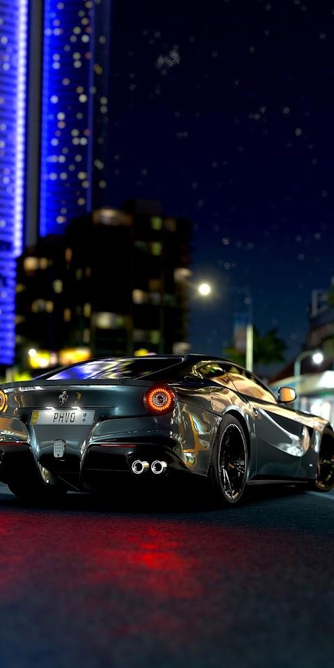 Beautiful Ferrari car