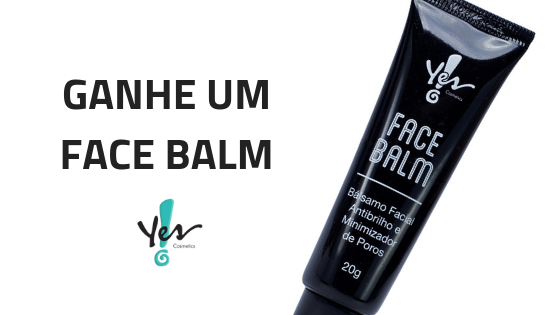 face balm yes cosmetics grátis