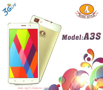 Boss Style A3S Firmware Free Download