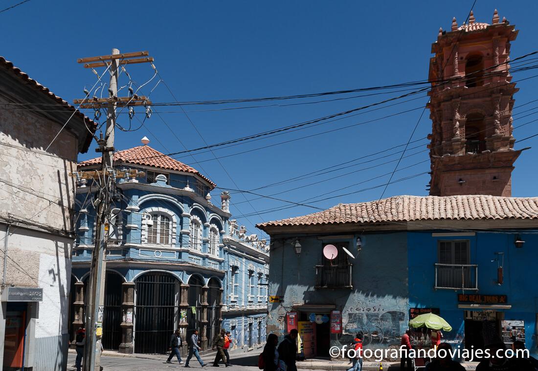 Torre de la Compañía de Jesús en Potosí