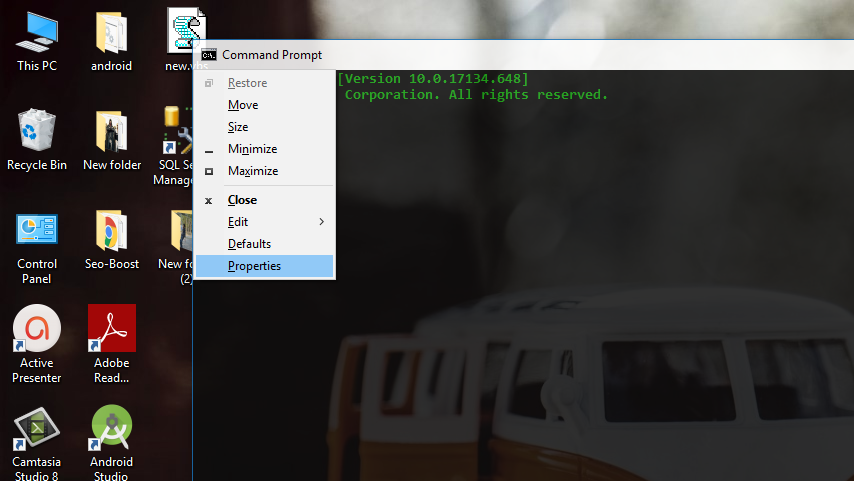 How To Enable Copy And Paste Shortcut In CMD    - Jeetech