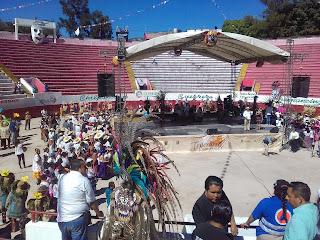 teponaxtli, plaza de toros