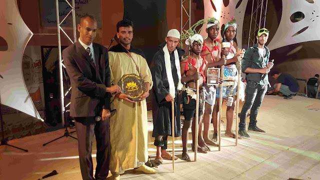 نجاح باهر للنسخة الأولى لمهرجان المسرح بتازارين