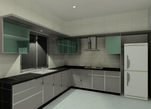 Tempahan Kabinet Dapur Gril Rumah Terkini Dan Terbaru