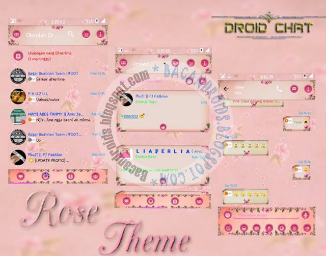 download BBM2 Mod Terbaru Tema Rose Versi 2.13.1.13 Multi Clone