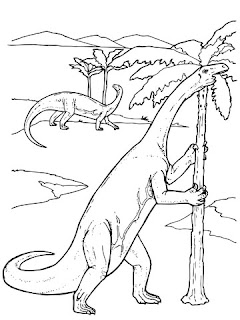 Big Dinosaur Coloring Pages For Print