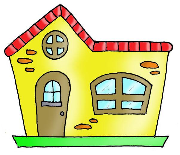 Dibujo Para Colorear Casa Casa Casa Mansion Dibujo Dibujos De