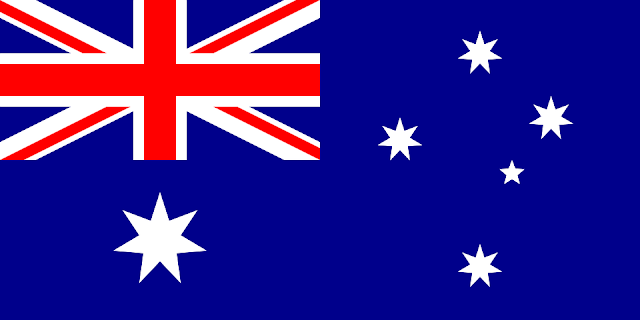 Bandera de Australia.