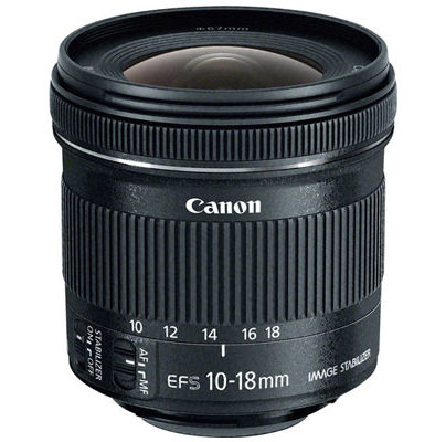 New Canon EF-S 10-18mm IS STM Ultra-Wide Lens