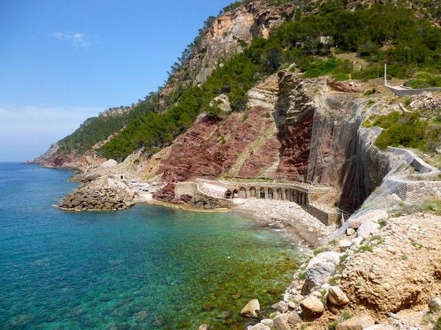 Cala de Estellencs em Maiorca