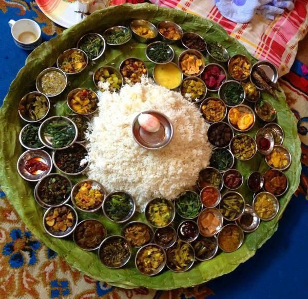 Traditional Gorkha Dish with 84 vegetable items - Chaurasi Byanjaan