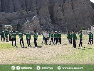 Oriente Petrolero tuvo su primera práctica en La Paz - DaleOoo