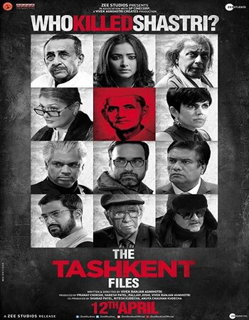 The Tashkent Files (2019) Hindi 720p WEB-DL x264 1.1GB ESubs Movie Download
