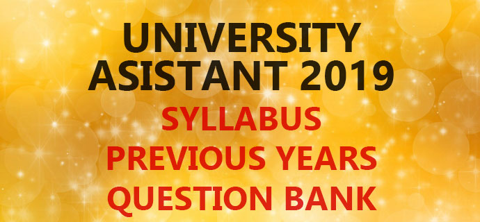 PSC University Assistant Syllabus Question Bank