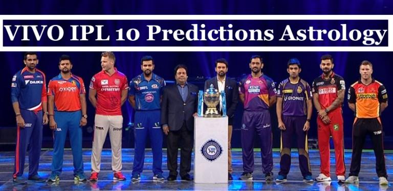 VIVO IPL 2017 All Match Predictions, Astrology, Bhavishyavani