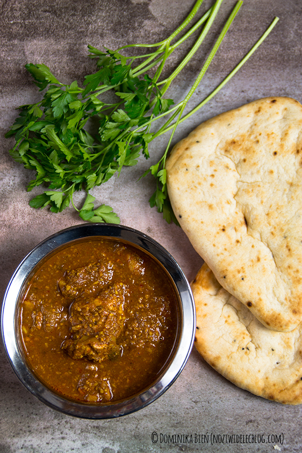 kurczak, curry, kori ghassi