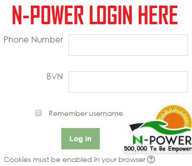 npower.gov.ng Test Portal Login (N-power Interview Questions - Login Npower Test Portal)