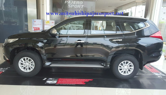 all new pajero sport hitam indonesia
