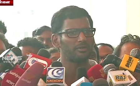 There is No rules in producer council against Public election: Vishal