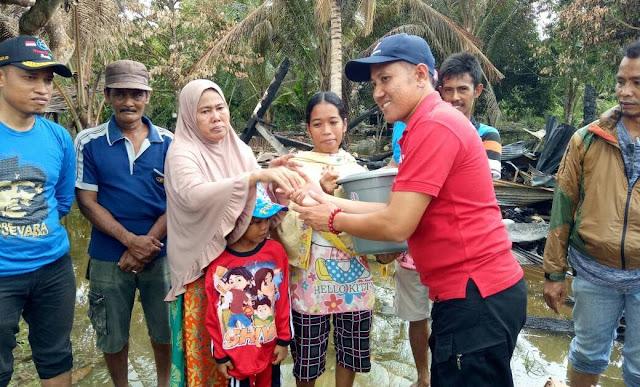 PMI Lutra Bantu Korban Kebakaran di Malbar