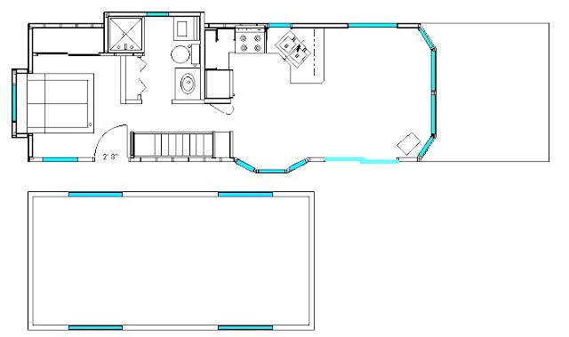 cabin park model home