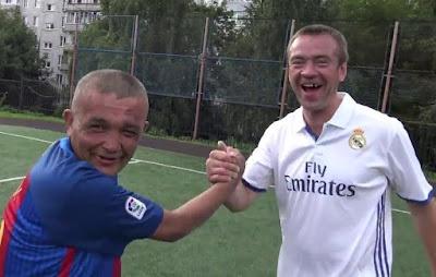 чемпионат по футболу среди бездомных
