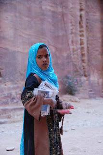 Bedouin Girl Petra Jordan