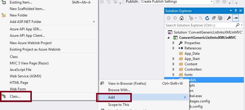 Convert Model Class Generic List Into XML File In ASP NET MVC 5