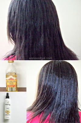 I love when washing my relaxed hair is simple. See what products helped me have a simple wash day. | arelaxedgal.com
