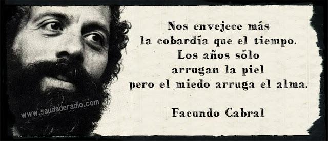 Frase de Facundo Cabral