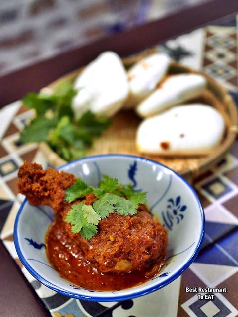 Luckin Kopi Petaling Street Menu - Chicken Rendang Bun
