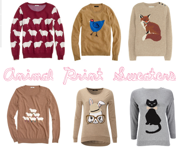 aa210c7a024 Miami Blogger  Animal Caricature Sweaters  J.Crew French Hen Sweater