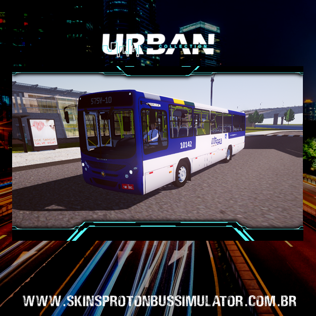 Skin Proton Bus Simulator - Torino 07 MB OF-1519 BT5 Integra Salvador Norte