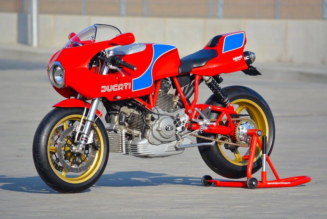 Racing Caf U00e8  Ducati Mh 900e By Walzwerk