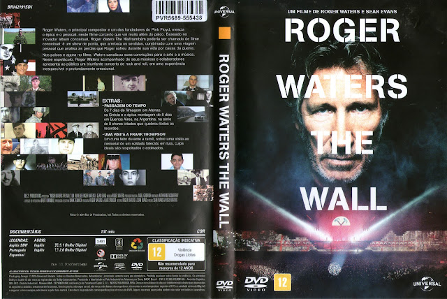 Capa DVD Roger Waters The Wall