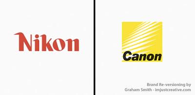 bromas de marcas famosas nikon y canon