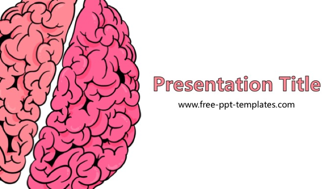 Brain powerpoint template toneelgroepblik Images